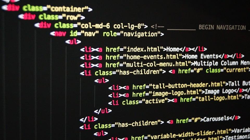 עיצוב אתר ב- html